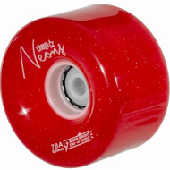 Chaya Led Wheels - Neon Red - 65*38m/78a, 4-Pack