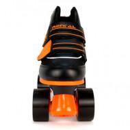 KRF Roller Rental Junior - Preto/Laranja