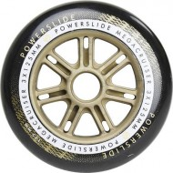 Powerslide Megacruiser Wheel 125mm / 86A Black/Gold