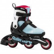 Rollerblade Microblade Free 3WD - Blue/Raspberry