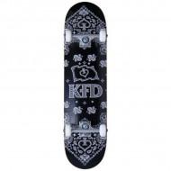 "KFD Bandana Skate Completo 8"" Black"