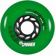 Powerslide Spinner 80mm/88A Green (Pack 4un)