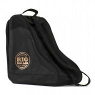 Rio Roller Rose Bag - Saco Porta-patins - Preto/Dourado