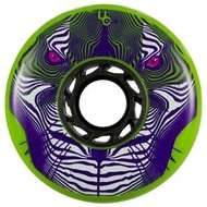 UNDERCOVER Tiger Wheel 80mm/86A - Green (Full Radius)