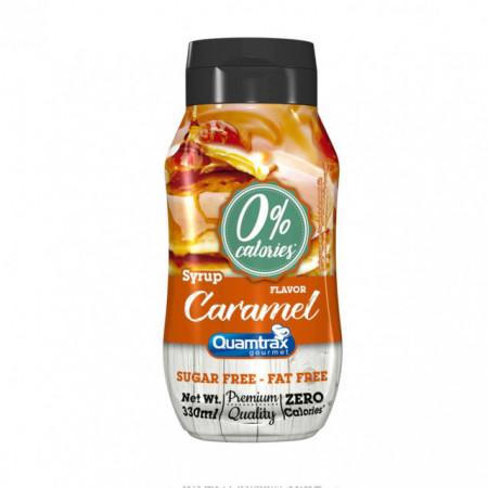 Imagens QUAMTRAX NUTRITION Syrup Zero Caramelo