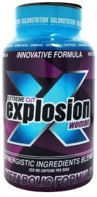 Imagens EXTREME CUT EXPLOSION WOMAN 120CÁP. GOLDNUTRITION
