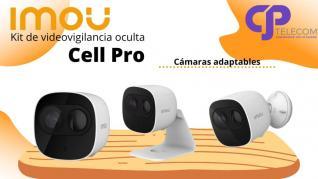 Cámara de seguridad IMOU Cell PRO
