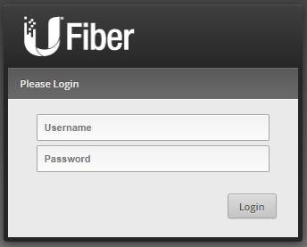 Ubiquiti UFiber (GPON) - Primer acceso a una OLT