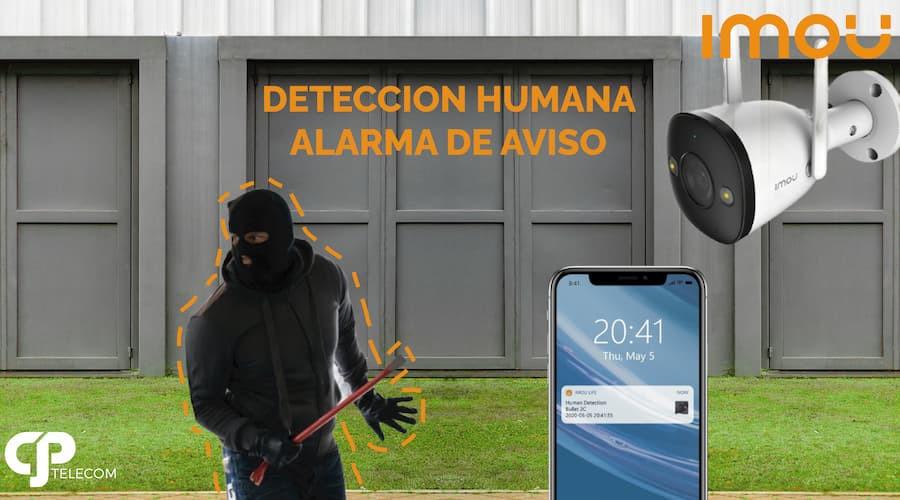 Cámara de Seguridad IP Smart Bullet 2E WiFi IP de IMOU