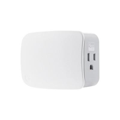 JASCO - 28172 - Plug-In / On/off con señal inalambrica Z-WAVE para Tomacorriente convencional compatible con HUB HC7 puede ser un panel de alarma L5210 L7000 con Total Connect