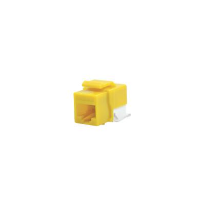 LINKEDPRO - LP-KJ-610-YE - Módulo Jack Cat6 sin Herramienta (toolless) keystone - Color Amarillo