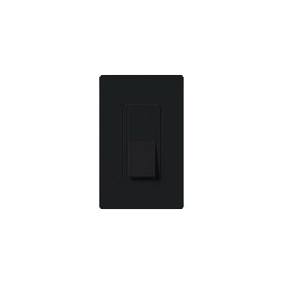 LUTRON ELECTRONICS - CA-1PS-BL-S - Switch un solo polo 15 Amp negro nigth