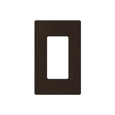 LUTRON ELECTRONICS - CW1-BR - Placa de pared color café para un Control Remoto PICO switch o atenuador.