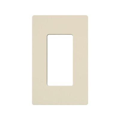 LUTRON ELECTRONICS - CW1-LA - Placa de pared 1 espacio para atenuador (dimmer) switch ó control remoto PICO inalámbrico.