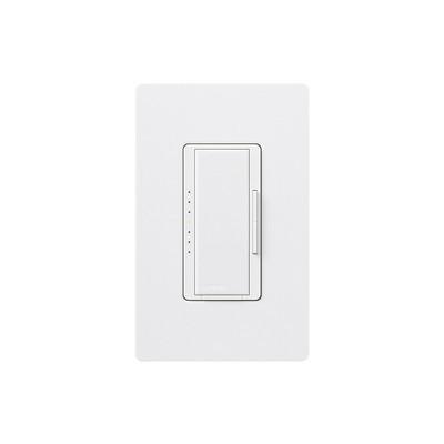 LUTRON ELECTRONICS - MACL-153M-SW - Dimmer 3 hilos/unico polo 150W CFL/LED o 600 inc/hal