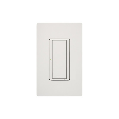 LUTRON ELECTRONICS - MRF2S6ANSWH - Switch on/off interruptor iluminación de 6 A ventilador de 1/10 HP 120 V requiere neutro.
