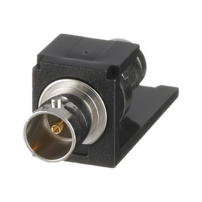PANDUIT - CMBA75BLY - Módulo Acoplador Coaxial Tipo BNC Mini-Com de 75 Ohms Color Negro