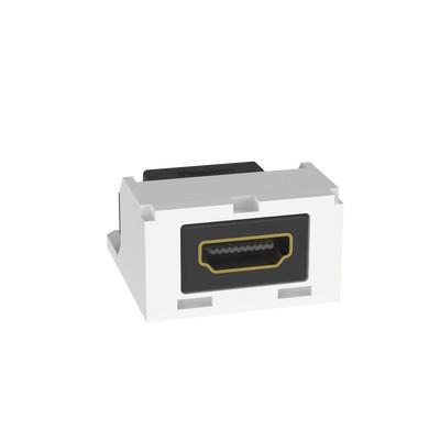 PANDUIT - CMHDMIAW - Módulo Acoplador HDMI 2.0 Hembra a Hembra Tipo-A Categoría 2 Mini-Com Color Blanco Ártico