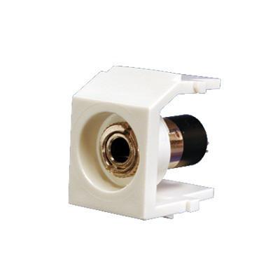 """PANDUIT - NK35MSSIW - Módulo Acoplador Estéreo de 3.5mm (1/8"""") Tipo Keystone Para Soldar Color Blanco Mate"""