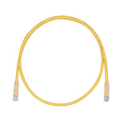PANDUIT - UTPSP3YLY - Cable de Parcheo TX6 UTP Cat6 24 AWG CM/LSZH Color Amarillo 3ft