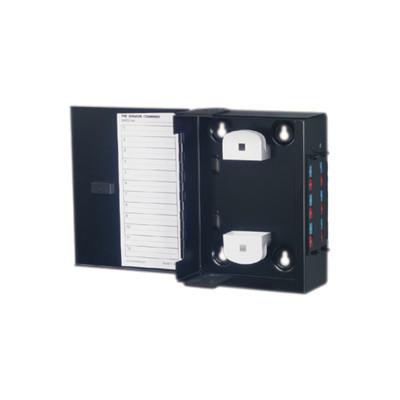 SIEMON - SWIC3-M-01 - Mini Caja de Conexión de Fibra Óptica Para Montaje en Pared Hasta 48 Puertos LC (Acepta Dos Placas Acopladoras) Color Negro