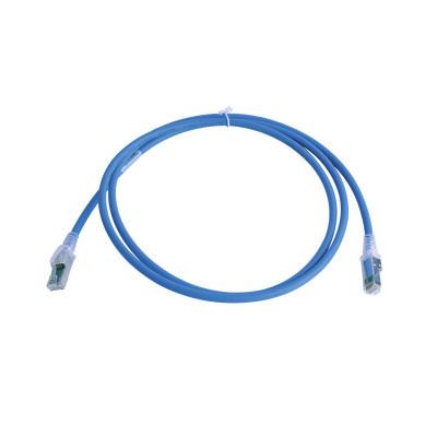 SIEMON - ZM6A-S05-06B - Patch Cord Z-MAX Cat6A S/FTP CM/LS0H 5ft Color Azul Versión Bulk (Sin Empaque Individual)