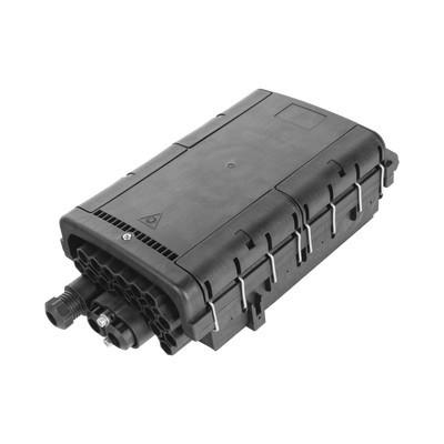 FIBERHOME - FDP-430D - Caja de Distribución de Fibra Óptica para 48 empalmes con 16 acopladores SC/APC enterrado directo IP68