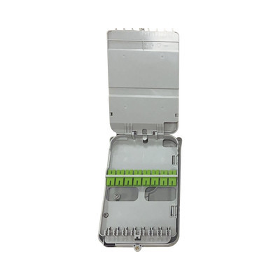 FIBERHOME - FTB-523-SCA - Caja Terminal de Fibra Óptica para instalación en interior montaje en pared 16 acopladores SC/APC monomodo hasta 16 empalmes