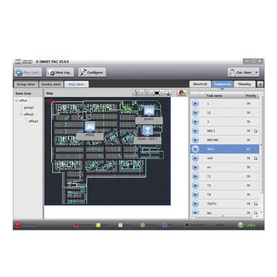 HONEYWELL - XSPT900 - Paquete de software de administración X-SMART incluye 1 Servidor y 1 cliente