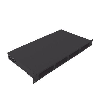 "LINKEDPRO - LP-ODF-8024 - Distribuidor de fibra óptica vacio 19in acepta 48 adaptadores ""LC Duplex"" o 24 ""SC Duplex"" 1U Incluye charola de empalme"
