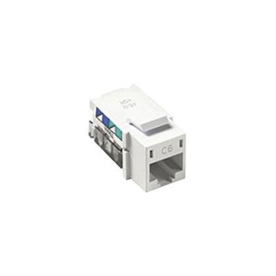 LUTRON ELECTRONICS - CON-1PC6-WH - Adaptador jack telefonico Cat 6 (8 pin) Phone