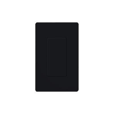 LUTRON ELECTRONICS - DVBIBL - Placa ciega color negro.