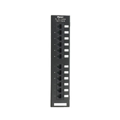 PANDUIT - NK6PPG12WY - Panel de Parcheo de Impacto 110 Categoría 6 Montaje en Pared Usando Accesorio WB89D de 12 Puertos