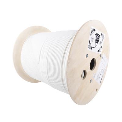 PANDUIT - PSL7004WH-CED - Bobina de Cable Blindado S/FTP de 4 pares Cat7 Inmune a Ruido e Interferencias LSZH (Bajo humo Cero Halógenos) Color Blanco Bobina de 500 m