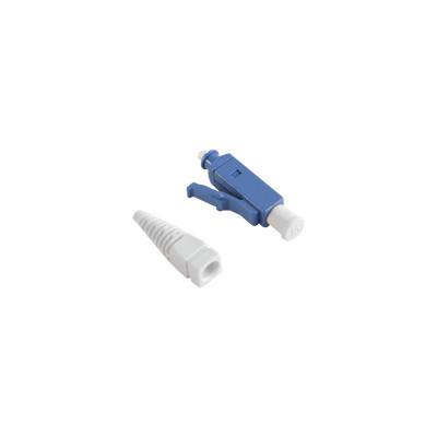 SIEMON - FC1-LC-SM-B02 - Conector de Fibra Óptica LC Simplex Para Instalación en Campo Monomodo Fibra recubierta Color Azul