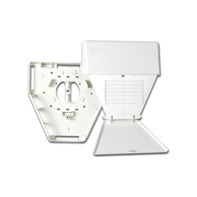 SIEMON - MX-MMO-02 - Salida Multiusuario de Telecomunicaciones (MUTOA) con tornillos de montaje y cinta adhesiva con 18 salidas MAX color blanco