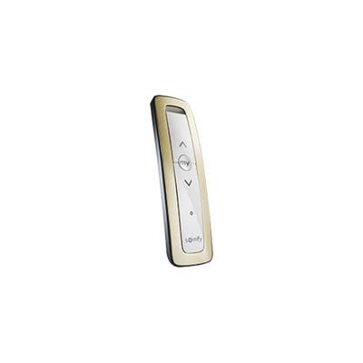 SOMFY - SITUO1RTSGOLD - Control remoto 1 canal para motores de persiana Somfy con señal inalámbrica instrucciones: sube baja y detener con posición favorita programada.
