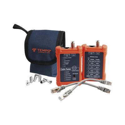 TEMPO - PA1594 - Tester Profesional para mapeo de cables de red/coaxiales