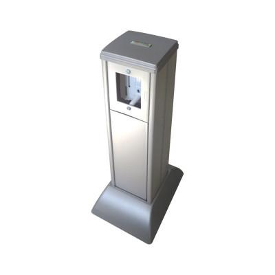 THORSMAN - THMICG - Mini columna color aluminio todo en uno administre datos y energía (10000-02000)