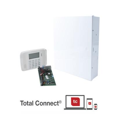 HONEYWELL HOME RESIDEO - VISTA48/6162RF - Sistema de Alarma de 8 Zonas con Teclado LCD Alfanumerico y Receptor Inalambrico para 40 Sensores