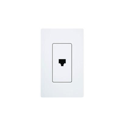 LUTRON ELECTRONICS - CA-PJ-WH - Salida para teléfono RJ11 6 conductor