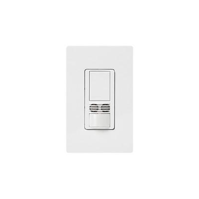 LUTRON ELECTRONICS - MS-B102-WH - MAESTRO Sensor switch occupancy multilocacion / un solo polo requiere neutro 120-227 6A color blanco