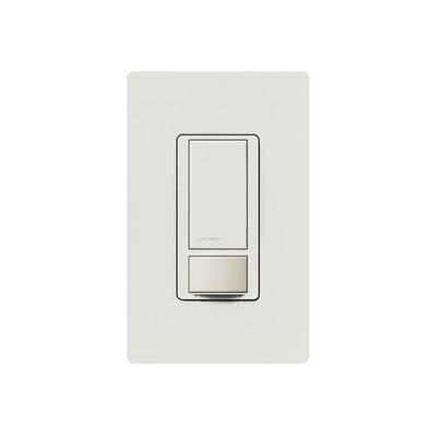LUTRON ELECTRONICS - MS-OPS5M-WH - Apagado y sensor de movimiento recomendable para baños oficinas privadas etc. 2AMP