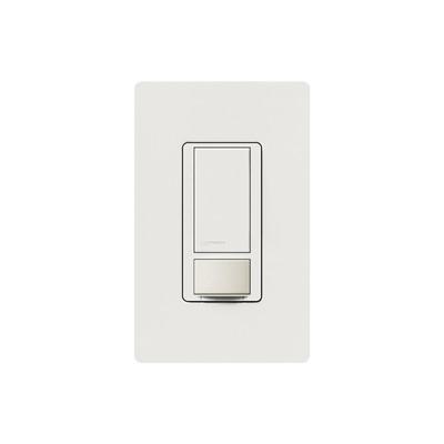 LUTRON ELECTRONICS - MSOPS6M2DVWH - Apagado y sensor de movimiento recomendable para baños oficinas privadas etc. 6AMP DV