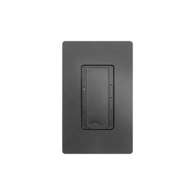 LUTRON ELECTRONICS - RRD-6CL-MN - Atenuador (dimmer) un solo polo/multilocación 120VCA/600W (INC/MLV/HAL) o 150W (CFL/LED) apaga enciende y atenúa iluminación.color negro
