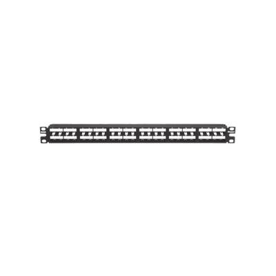 PANDUIT - CPP48HDWBLY - Panel de Parcheo Modular Mini-Com (Sin Conectores) Plano Sin Blindaje Alta Densidad de 48 puertos 1UR