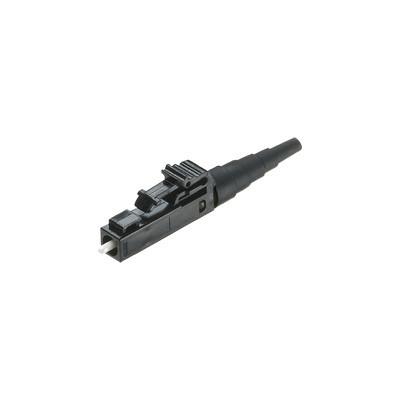 PANDUIT - FLCSMBLY - Conector de Fibra Óptica Multimodo OM2 OM3 y OM4 LC Simplex Pulido en Campo Color Negro