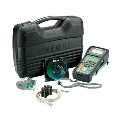 PANDUIT - LS8EQ-KIT-ACS - Kit de Impresora Etiquetadora Para Identificación de Cables Componentes y Equipos de Seguridad Con Teclado Qwerty de Transferencia Térmica con Adaptador AC