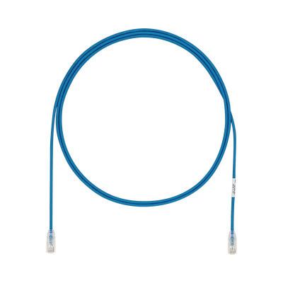 PANDUIT - UTP28X7BU - Cable de Parcheo UTP Cat6A CM/LSZH Diámetro Reducido (28AWG) Color Azul 7ft