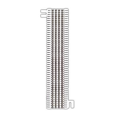 SIEMON - M1-50 - Bloque de Conexión S66 Capacidad de 50 Pares Cat5e Para Cable Sólido 22 a 26 AWG